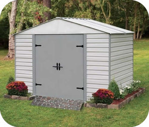 Arrow 8x5 Viking Vinyl Coated Steel Shed Kit