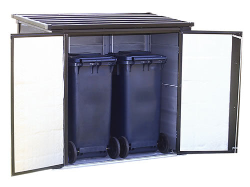 Arrow 5x3 Versa-Shed Locking Horizontal Shed Kit - Onyx