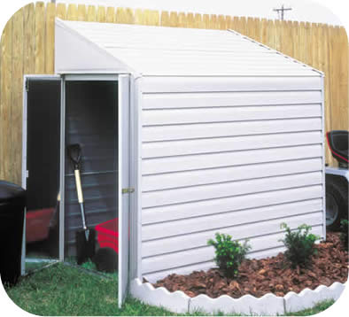 Arrow 4x7 Yardsaver Metal  Storage Shed Kit