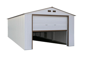 DuraMax 12x20 Steel Garage Kit - White