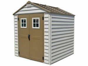 DuraMax 7x7 StoreMax Vinyl Shed w/ Foundation Kit