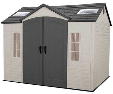 Lifetime 10x8 Plastic Storage Shed with Floor