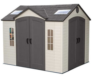 Lifetime 10x8 Storage Shed w/ Double Doors