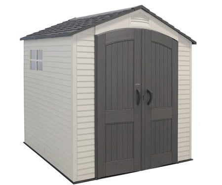 Lifetime 7x7 Storage Shed w/ Two Windows
