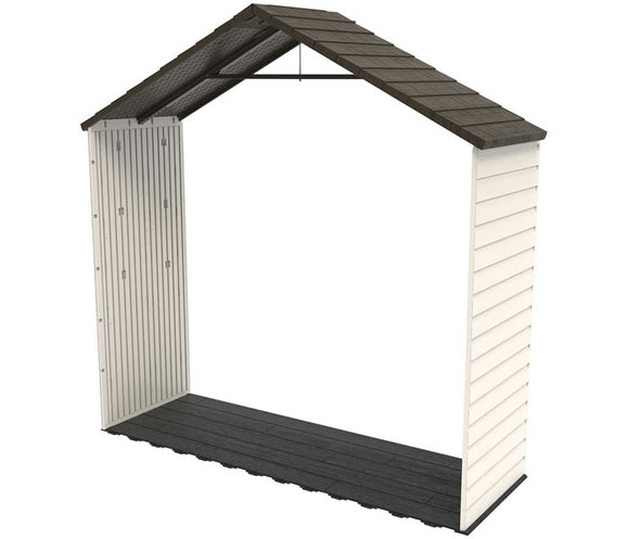 Lifetime 8 ft Plastic Storage Shed Extension Kit