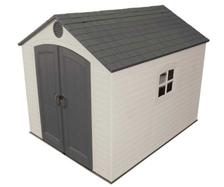 Lifetime 8x10 Plastic Shed Kit w/ Floor