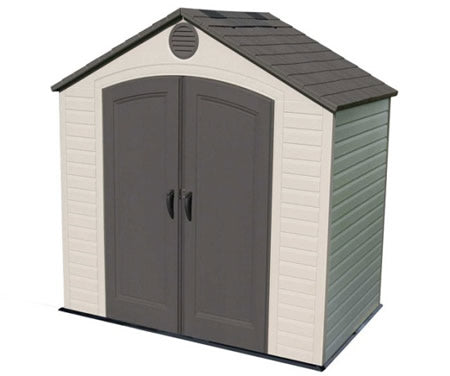 Lifetime 8x5 Small Plastic Storage Shed w/ Floor