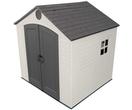 Lifetime 8x7 Plastic Storage Shed w/ Floor