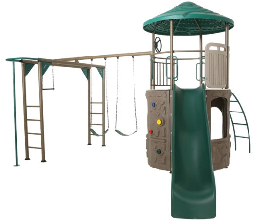 Lifetime Adventure Tower Deluxe Playset - Earthtone