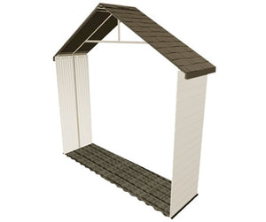 Lifetime 11-foot Plastic Storage Shed Extension Kit