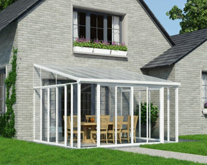 Palram 13x14 SanRemo Sunroom Kit w/ Screen Doors