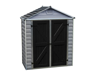 Palram 6x3 Skylight Storage Shed Kit - Gray