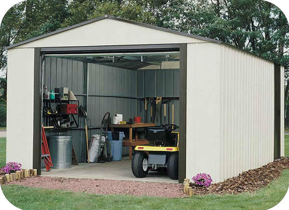 Arrow 12x10 Vinyl Murryhill Storage Shed Kit