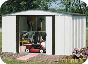 Arrow 10x8 Newburgh Metal Storage Shed Kit