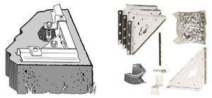 Arrow Storage Sheds Concrete Anchor Kit