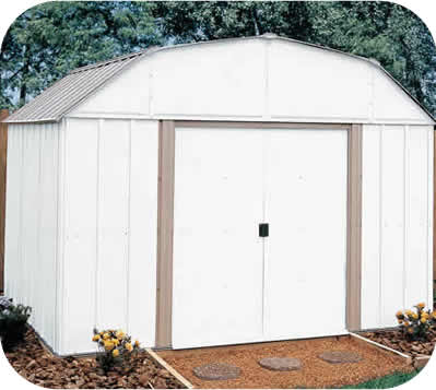 Arrow 10x8 Lexington Metal Storage Shed Kit