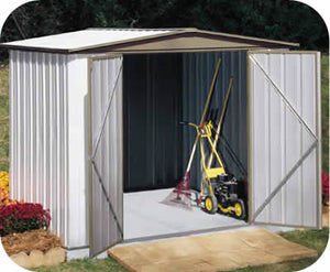 Arrow 8x5 Sentry Metal  Storage Shed Kit
