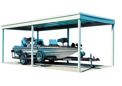 Arrow 10x20 Free Standing Steel Carport Kit