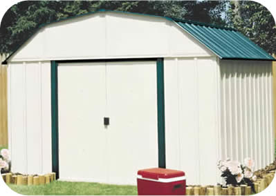 Arrow 10x14 Vinyl Sheridan Storage Shed Kit