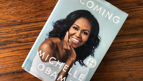 Michelle Obama's book named becoming