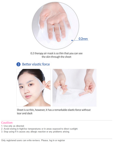 [Etude house] 0.2mm Therapy Air Mask