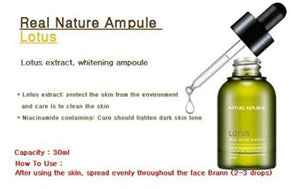 [Nature Republic] Real Nature Ampoule #Lotus 30ml