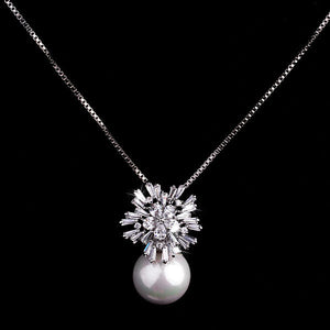 Sterling Silver Sea Pearl Necklace