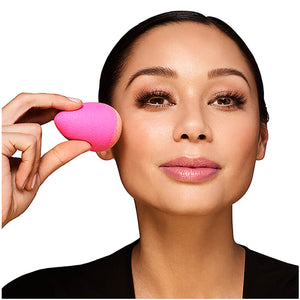 [Abbamart] Beauty Blender Tong Tong Puff Makeup Sponge Flawless Finish Liquid Powder Foundation Concealer Blush Contour Cut-Crease
