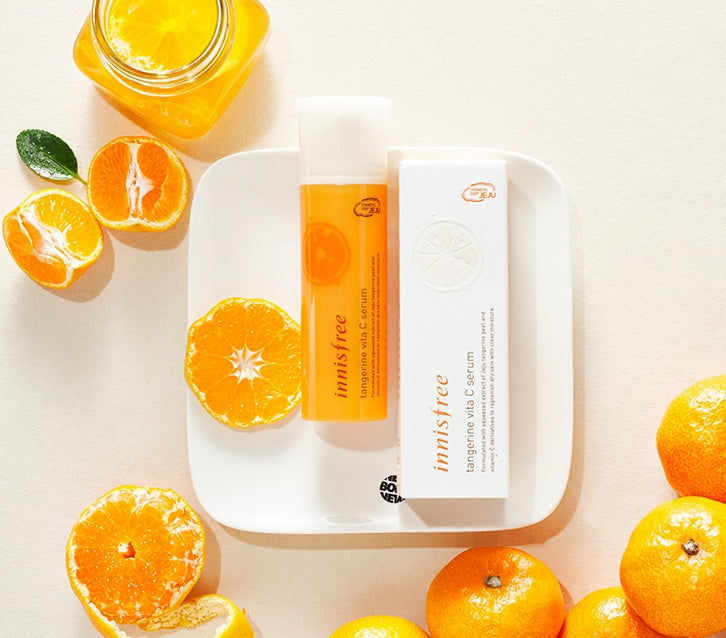 [Innisfree] Tangerine Vita C Serum 50ml Makes Your Skin Fresh