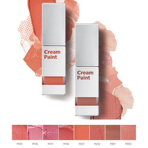[Moonshot] Cream Paint Lightfit Lip & Cheek Tint Perfect MLBB Lightweight Long-Lasting Vibrant Colors