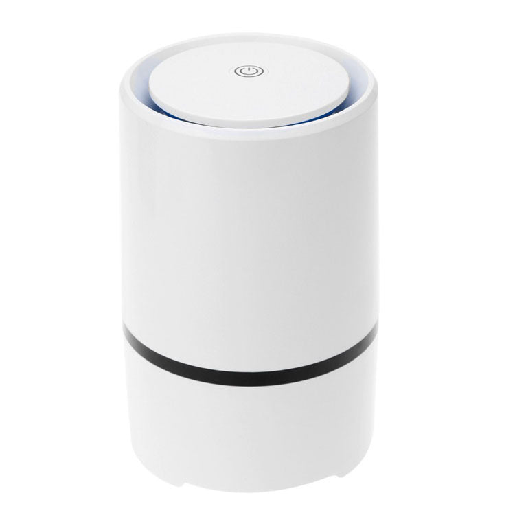 USB Rechargeable Air Purifier Small Portable Deodorizer Low Noise Smoke and Odor Eliminator Home, Bedroom, Office, Airplane, Car Or On The Go With True HEPA Filter Air Purifier For Allergies And Pets, Mold, Pollen, Dust, Small Particles Quiet Odor