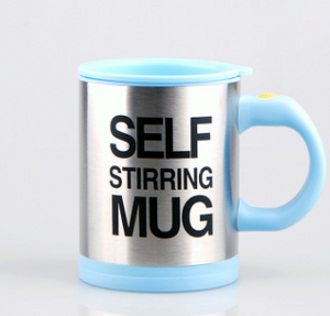Load image into Gallery viewer, Sky Blue Self Stirring Mug