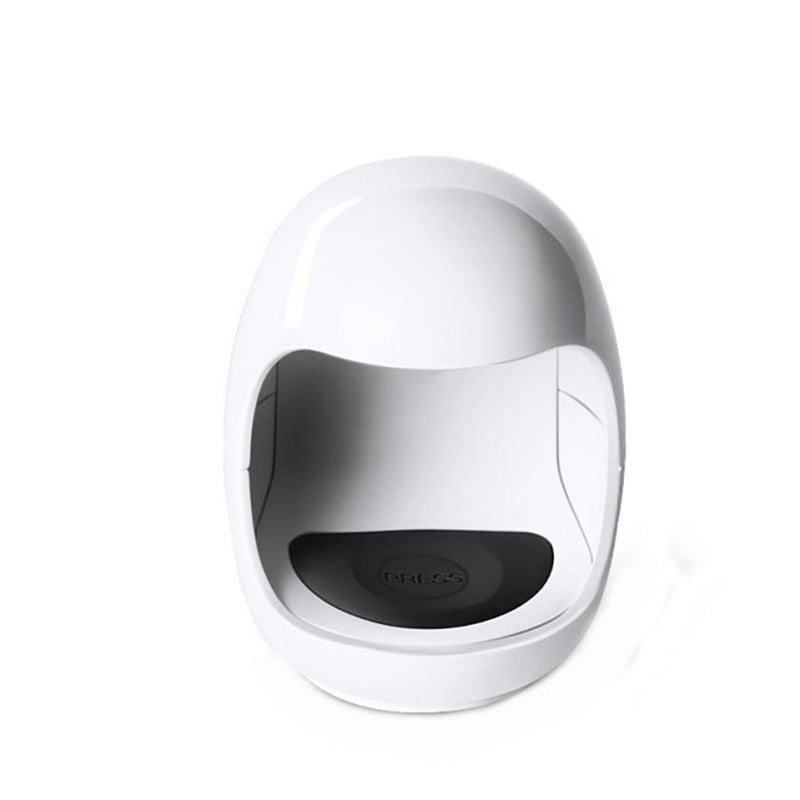 Mini Portable UV Nail Dryer With USB Cable white
