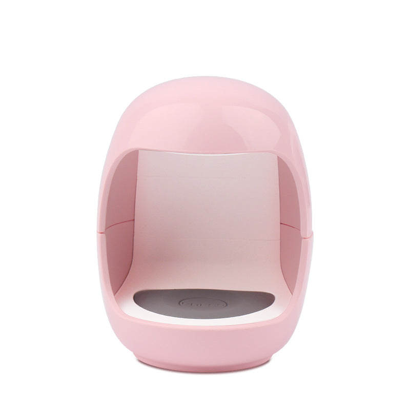 Mini Portable UV Nail Dryer With USB Cable pink