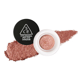 [3CE] Pot Eye Shadow Fall Nudes High Pigmentation Glitter Translucent Easy Blend