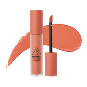 [3CE] Soft Lip Lacquer Non-sticky  Classic Matte  Single Swipe Satin Soft