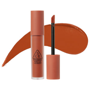 Load image into Gallery viewer, [3CE] Soft Lip Lacquer Non-sticky  Classic Matte  Single Swipe Satin Soft