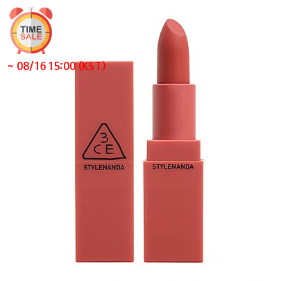 [3CE] Mood Recipe Matte Lip Color #222 (Step and Go) Lipstick Pastel Pink Long Wear