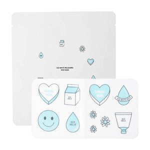 Load image into Gallery viewer, [3CE] White Milquidro Mini Mask 1ea Skincare Hydrating Moisturizing Sheet