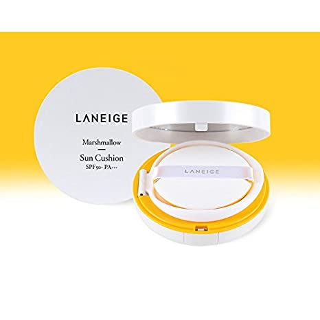 Load image into Gallery viewer, [Laneige] Marshmallow Sun Cushion SPF50+ PA+++ UV Protection
