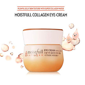 Load image into Gallery viewer, [Etude house] Moistfull Collagen Eye Cream 28ml Collagen Water & Baobab Oil Provide Rejuvenation And Fill Your Dry Skin With Moisture