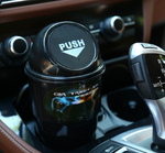 Cup Holder Trash Can With Lid For Cars Vehicle Automotive Mini Garbage Bin Office Home Leakproof
