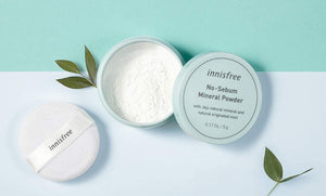 Load image into Gallery viewer, [innisfree] No Sebum Blur Powder With Jeju Natural Mineral And Natural Originated Mint