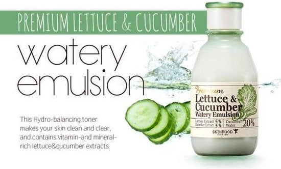 Load image into Gallery viewer, [Skinfood] Premium Lettuce & Cucumber Watery Toner 180ml