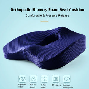 memory foam orthopedic seat cushion cucina deluxe memory foam orthopedic seat cushion gel enhanced memory foam orthopedic seat cushion