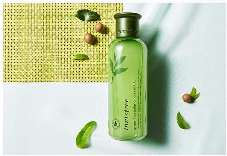 Load image into Gallery viewer, [Innisfree] Jeju Green Tea Balancing Skin EX 200ml Hydrated, Healthy-Looking Skin
