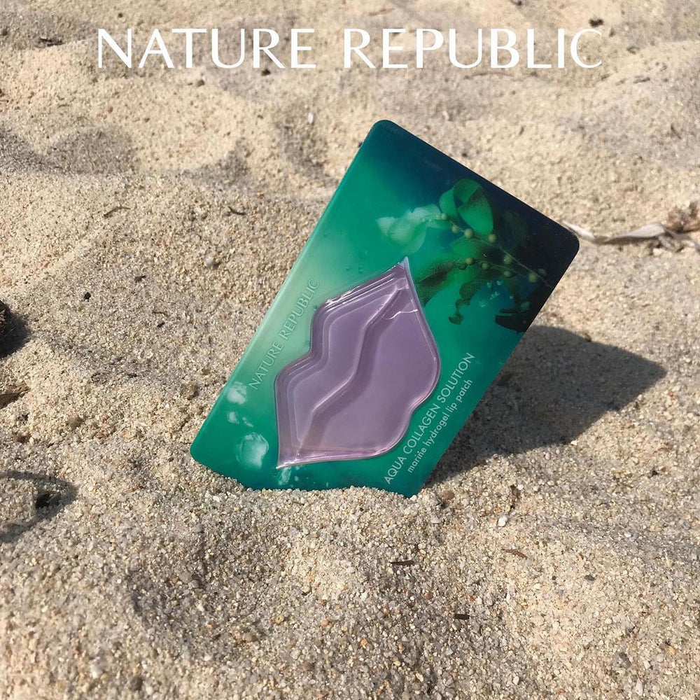 [Nature Republic] Aqua Collagen Solution Marine Hydrogel Lip Patch