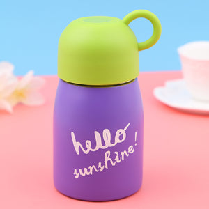 Hello Sunshine Stainless Steel Vacuum Flask Thermos Flask 10 fl oz Thermos Kids Cute Thermos Super Light Direct Drink Flask