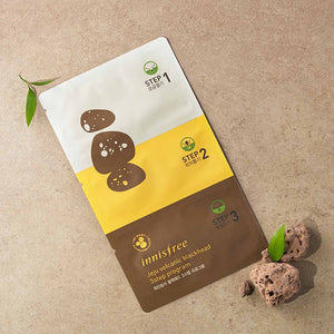 [Innisfree] Jeju Volcanic Blackhead 3 Step Sheet Deeply Rooted In The Pores