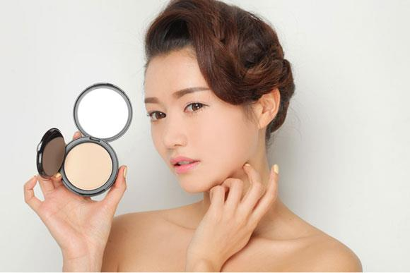 Load image into Gallery viewer, [3CE] SLIM FIT POWDER PACT(Soft Beige)